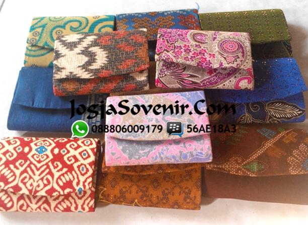 Jual Souvenir Dompet Koin Batik