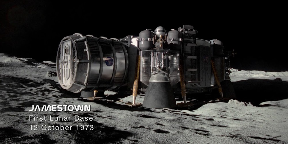 Jamestown US Moon base in season 1 of 'For All Mankind'