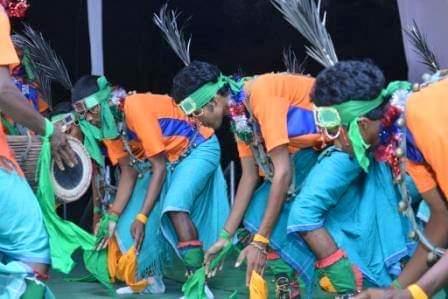 Santali folk dance picture