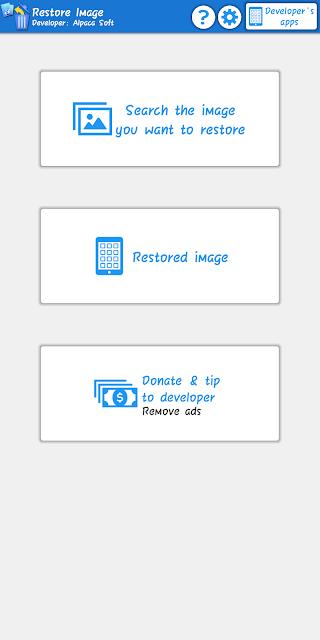delete ho chuki photos ko wapas kaise laye, photo recovery app for Android