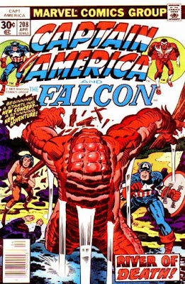 Captain America and the Falcon #208