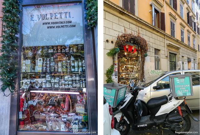 Confeitarias no Testaccio, Roma