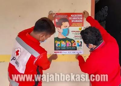 Persiapan KBM Tatap Muka, PMI Kab. Bekasi Survey dan Sosialisasikan PHBS di SMK Attaqwa 03 Babelan