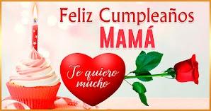 🥳 Imágenes y Tarjetas De Feliz Cumpleaños Mama