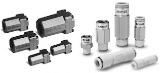 SMC AK Series Pneumatic Check Valve