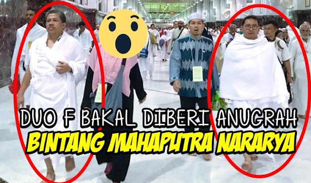 Kerap Kritik Jokowi, Duo F Ini Dihadiahi Bintang Mahaputra Nararya