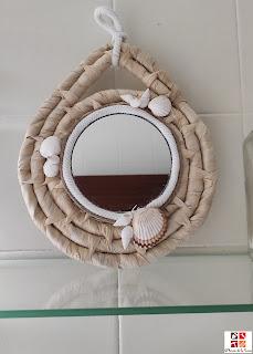 diy espejo coastal