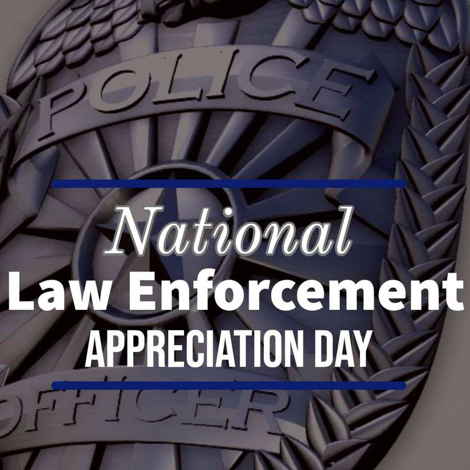 National Law Enforcement Appreciation Day Wishes For Facebook