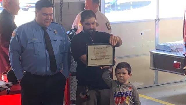 Un niño de 5 años salva a su familia en un incendio