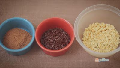 Cara Membuat Es Kepal Milo atau Ais Kepal Milo Ala Pufflova