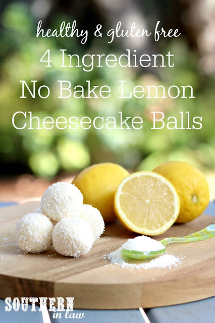 4 Ingredient Lemon Cheesecake Balls Recipe