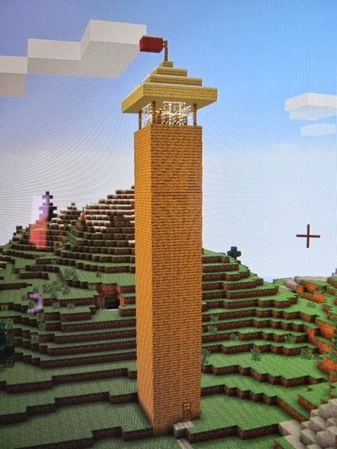 Westens Minecraft Math Projects Project 2 How To Build A Lighted