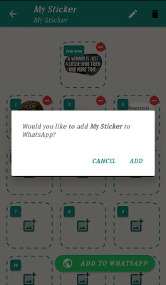 How to create your own  watsapp Stickers-12