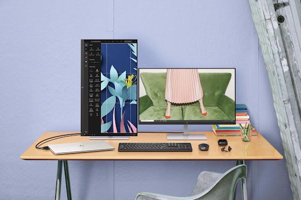 Um novo Monitor HP Concebido para Criadores Digitais