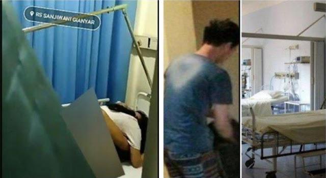Viral, Video Sepasang Kekasih Bercinta Diruang IGD Dengan Kondisi Infus Terpasang Ditangan.