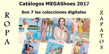 mega shoes catalogos 2017