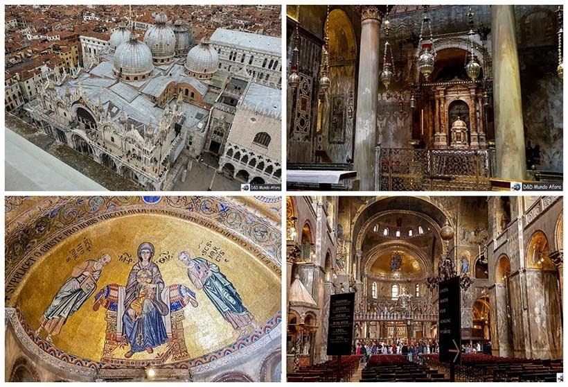 Basílica de São Marcos - Diário de Bordo - 1 dia em Veneza