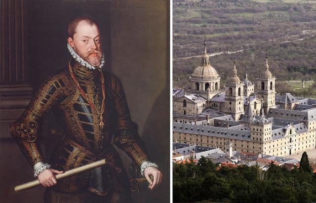 Filipe II e seu Escorial (residência)