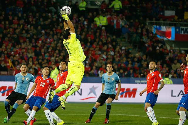Chile y Uruguay en Copa América 2015, 24 de junio