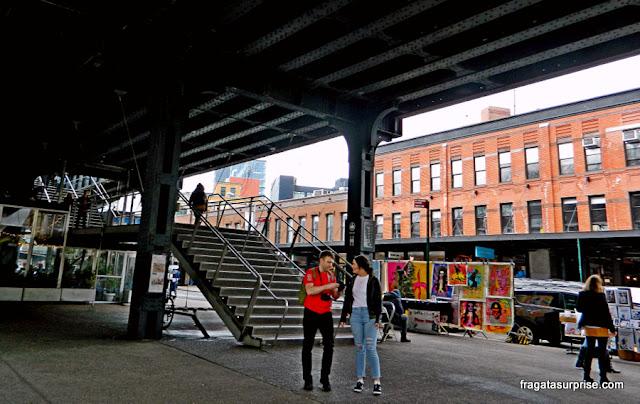 Acesso ao Parque High Line, Nova York