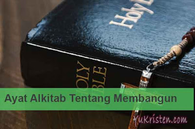 ayat alkitab tentang membangun