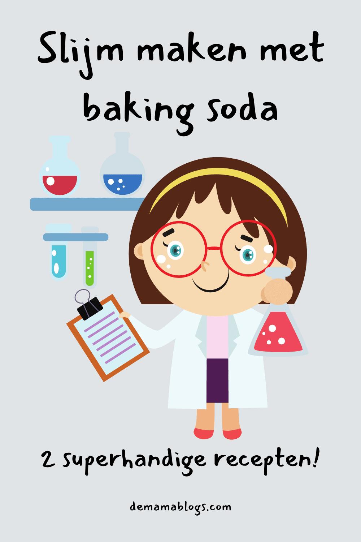 Slijm maken met baking soda