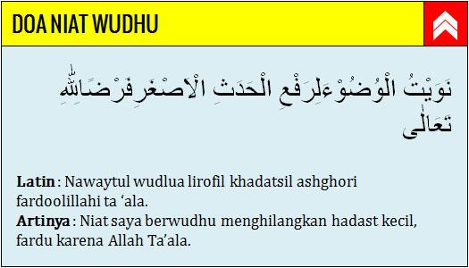 Bacaan Niat Wudhu, Doa setelah Wudhu, dan Tata Cara Wudhu ...
