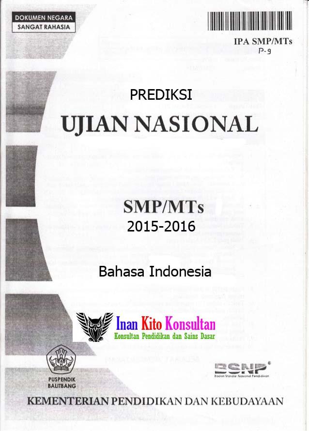 Soal Ujian Bahasa Indonesia Helmi Kediris