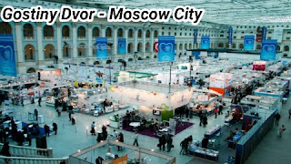Gostiny Dvor in Moscow City Russia