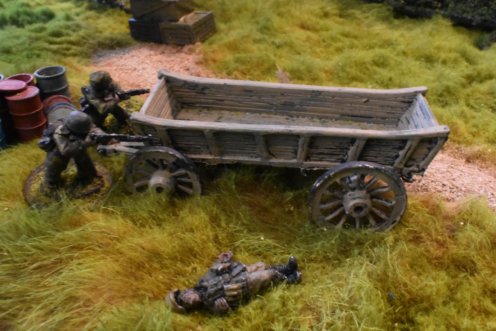 Miniature Wargaming with Spudnick: Solo Game Testing Some Rules for WWII
