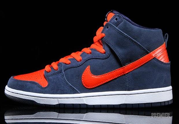 19c1da7e Nike SB Dunk High Colorway: Obsidian/White-Team Orange Style Code: 305050- 481. Price: $100