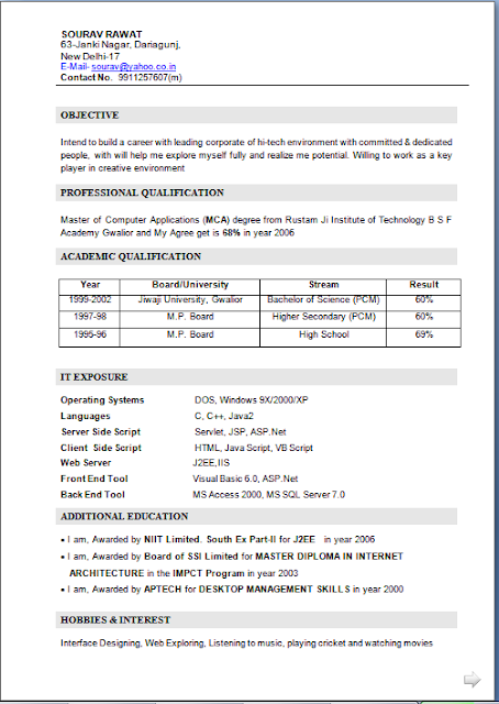 fresher resume tradinghub co