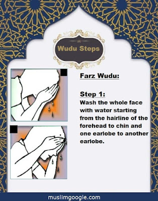 how to make wudu in 4 steps (with pictures)