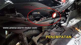 Cara pasang alarm motor All New AEROX CONNECTED 155cc