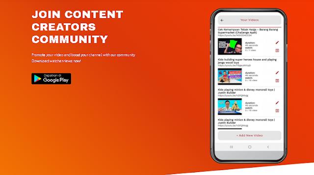 Aplikasi Memperbanyak View Youtube