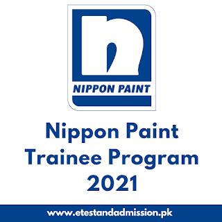 nippon paint trainee program 2021