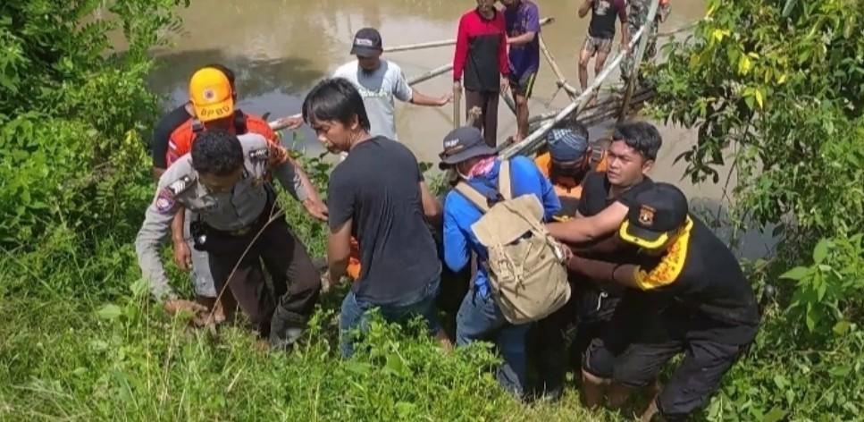 Korban Hanyut di Sungai Penet Akhirnya Ditemukan, Setelah Empat Hari kemudian