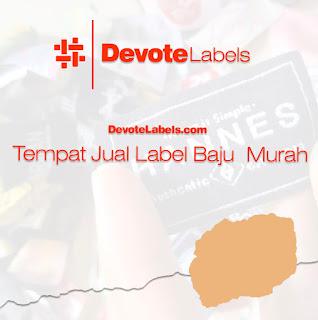 Jual Label Baju Murah