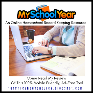 My School Year Homeschool Record Keeping ~ A Review