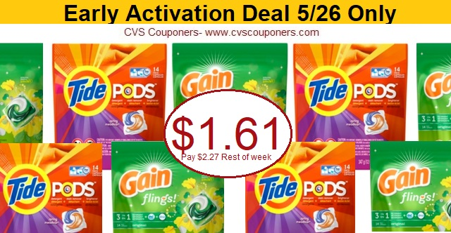 http://www.cvscouponers.com/2018/05/hot-pay-161-for-tide-pods-or-gain.html