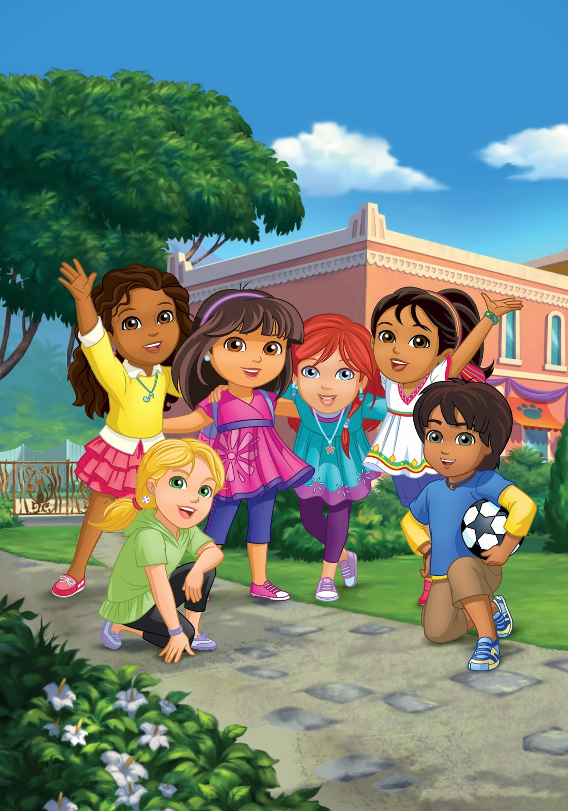 Nickalive Nick Jr Asia To Premiere Quot Dora And Friends
