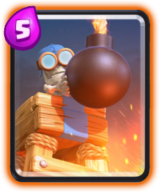 Carta Torre Bomba de Clash Royale - Cards Wiki