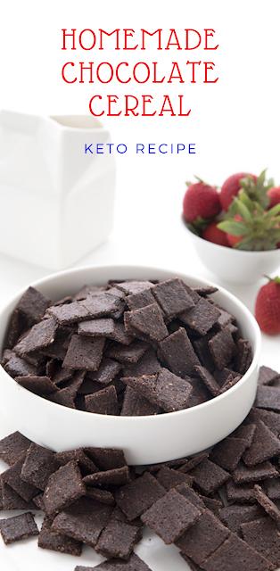 HOMEMADE CHOCOLATE CEREAL – KETO RECIPE