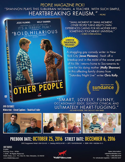 DVD & Blu-ray Release Report, Other People, Ralph Tribbey