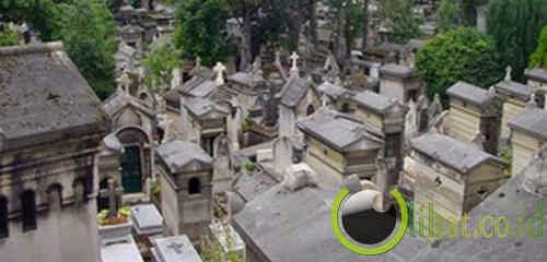 Kuburan Pere Lachaise - Paris, Perancis