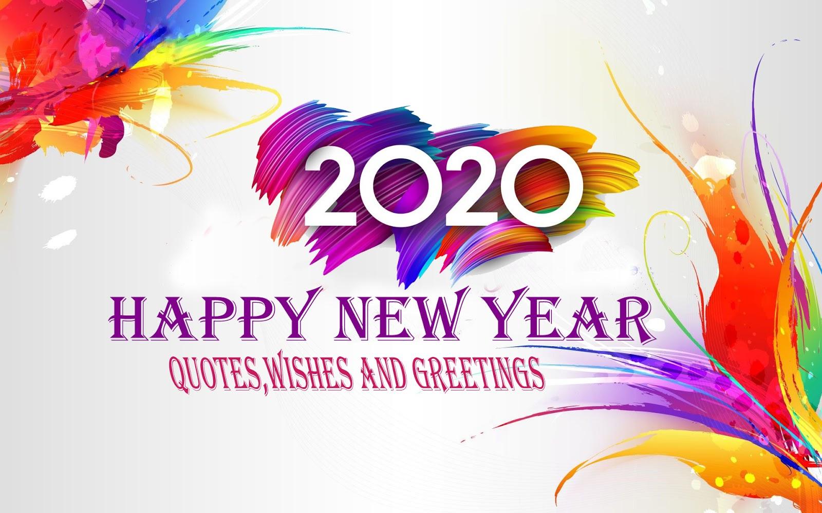 100 Kata Kata Ucapan Selamat Tahun Baru 2020 Gambar Quotes