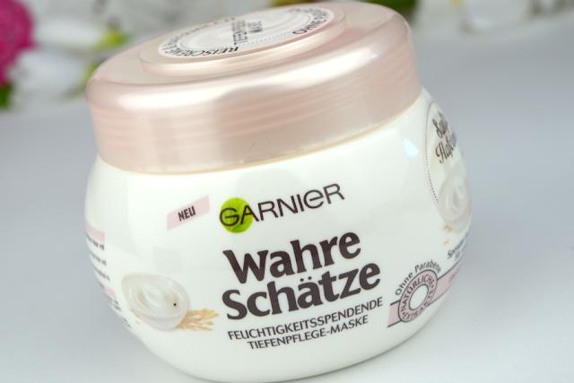Garnier Wahre Schätze Sanfte Hafermilch Feuchtigkeitsspendende Tiefenpflege-Maske | komplett