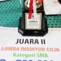 Juara II Event Insinyur Cilik dari Kementerian Lingkungan Hidup