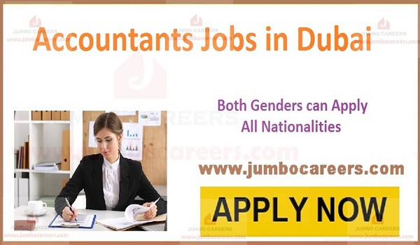 Accounting Accountant Jobs in Dubai with Salary AED 4500