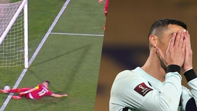 I AM SORRY!! Referee Apologizes To Ronaldo & Portugal After Disallowed Goal Against Serbia